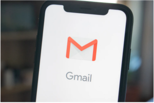 gmail icon on a smart phone